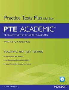 کتاب PTE Practice Tests Plus