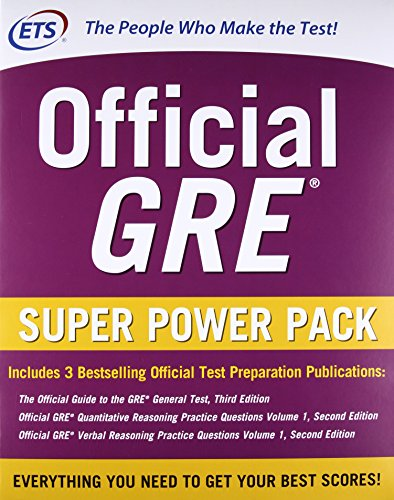 ETS' Official GRE Super Power Pack 2/E