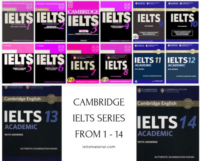 Cambridge IELTS 1-14