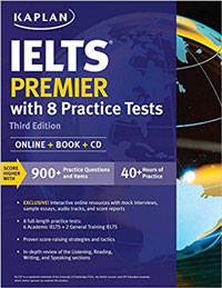 Kaplan IELTS Premier with 8 practice test