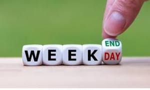 ایام هفته به انگلیسی
