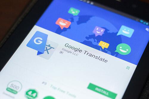 ترجمه با گوگل ترنسلیت