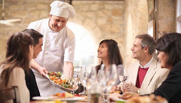 انتخاب رستوران به انگلیسی