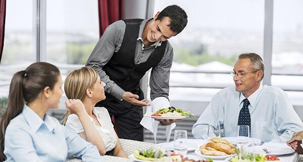 انگلیسی صحبت کردن در رستوران