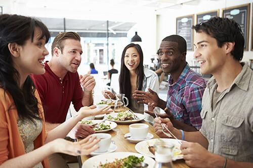 حساب کردن هزینه رستوران